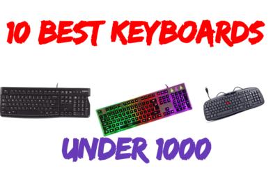 10 Best Keyboard Under 1000 In India 2020