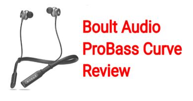 Boult Audio ProBass Curve Review | Wireless Earphone