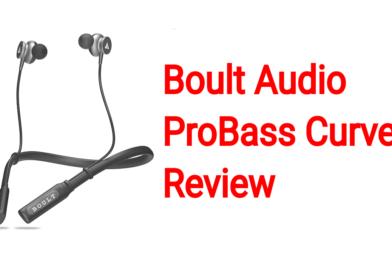 Boult Audio ProBass Curve Review   Wireless Earphone