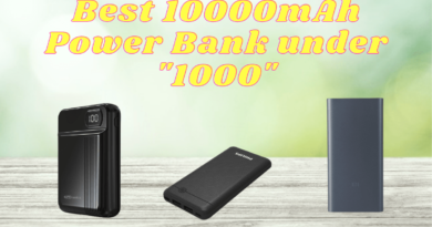 Best 10000mAh Power Bank under 1000