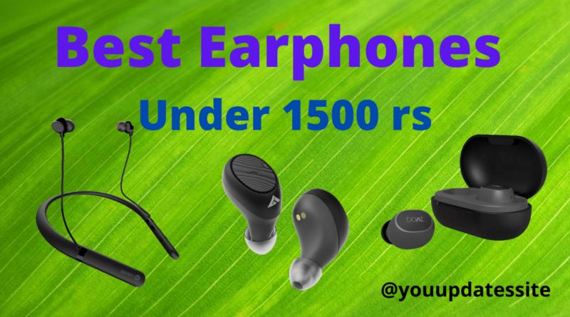 Best Earphones Under 1500 rs in India