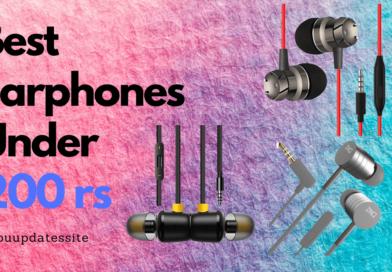 Best Earphones Under 200 Rs in India