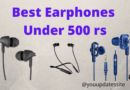 Best Earphones Under 500 rs in India