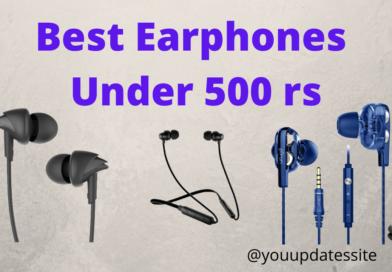 Best Earphones Under 500 rs in India
