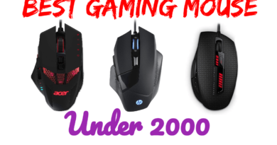 5 Best Gaming Mouse Under 2000
