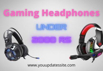 Best Gaming Headphones under 2000 rs in India