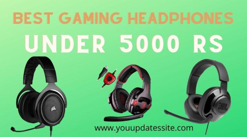 Best Gaming Headphones under 5000 rs in India