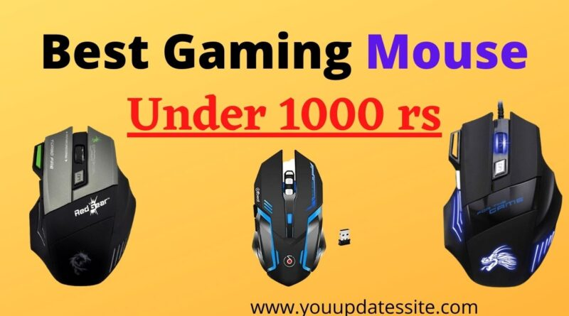 Best Gaming Mouse under 1000 rs in India
